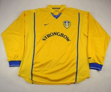 2000-02 LEEDS UNITED SHIRT XL