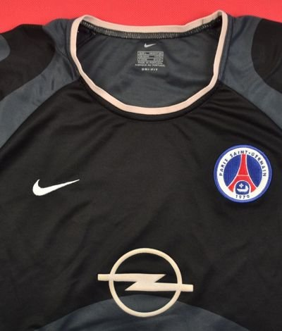 2001-02 PARIS SAINT GERMAIN SHIRT L