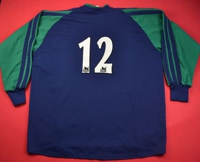 2001-02 TOTTENHAM GOALKEEPER #12 SHIRT XXL