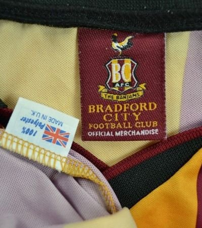 2001-03 BRADFORD CITY SHIRT XL