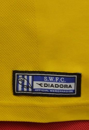2001-03 SHEFFIELD WEDNESDAY Koszulka XL