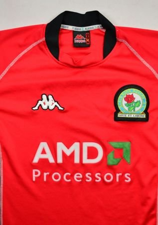 2002-03 BLACKBURN ROVERS SHIRT M