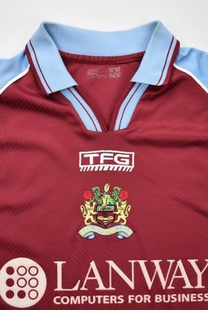 2002-03 BURNLEY FC SHIRT S
