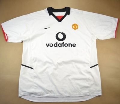 2002-03 MANCHESTER UNITED *NISTELROOY* SHIRT XXL