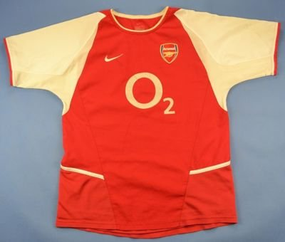 2002-04 ARSENAL LONDON SHIRT L. BOYS