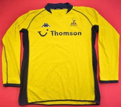 2002-04 TOTTENHAM SHIRT XL