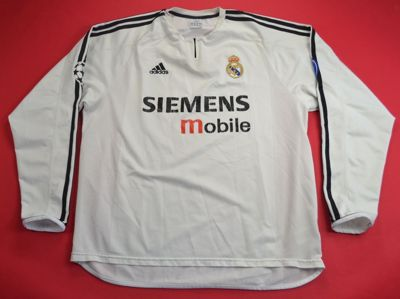2003-04 REAL MADRID SHIRT XL