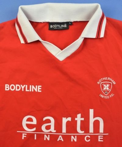 2003-04 ROTHERHAM UNITED #4 SHIRT L