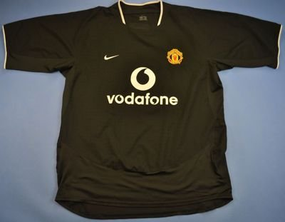 2003-05 MANCHESTER UNITED SHIRT L
