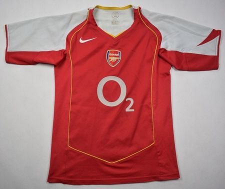 2004-05 ARSENAL LONDON *HENRY* SHIRT L. BOYS