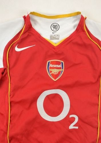 2004-05 ARSENAL LONDON SHIRT M. BOYS
