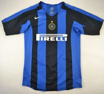 2004-05 INTER MILAN *MINOLI* XL. BOYS