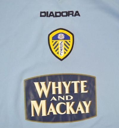 2004-05 LEEDS UNITED SHIRT XL
