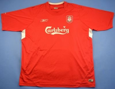 2004-06 LIVERPOOL *GERRARD* SHIRT XL