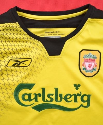 2004-06 LIVERPOOL SHIRT S. BOYS