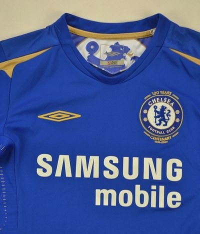2005-06 CHELSEA LONDON SHIRT S. BOYS