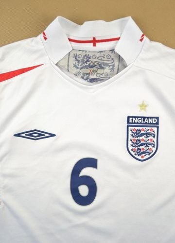 2005-07 ENGLAND *TERRY* SHIRT L