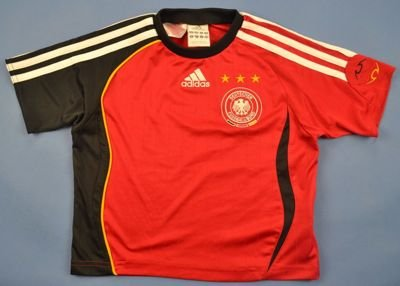 2005-07 \GERMANY SHIRT SIZE 4/5 YEARS