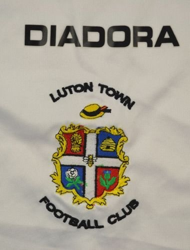 2005-07 LUTON TOWN SHIRT XL