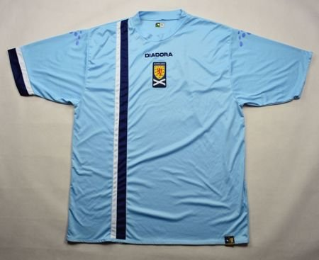 2005-07 SCOTLAND SHIRT XL