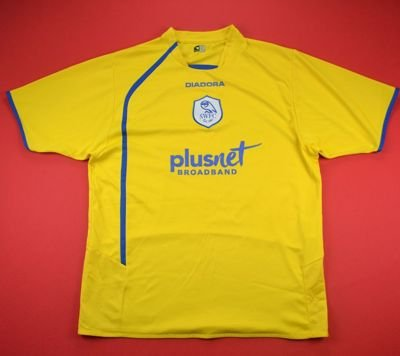 2005-07 SHEFFIELD WEDNESDAY SHIRT L