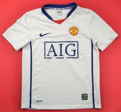 2006-07 MANCHESTER UNITED SHIRT S. BOYS