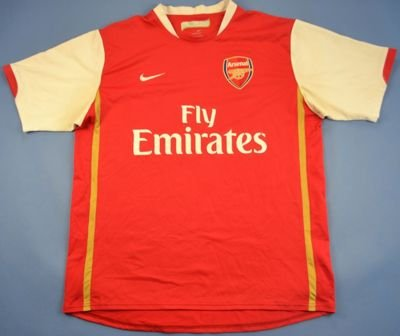 2006-08 ARSENAL LONDON *TOMAS ROSICKY* XL/L