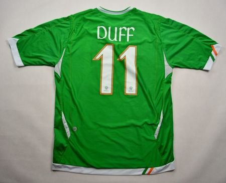 2006-08 IRELAND *DUFF* PLAYER ISSUE SHIRT L