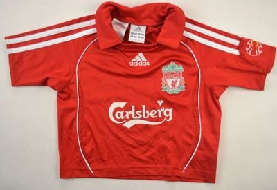 2006-08 LIVERPOOL SHIRT SIZE 2 YEARS
