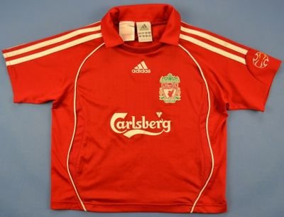 2006-08 LIVERPOOL SHIRT SIZE 6/7 YEARS