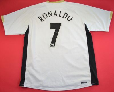 2006-08 MANCHESTER UNITED *RONALDO* SHIRT XL