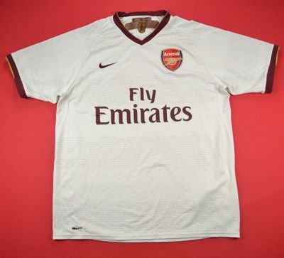 2007-08 ARSENAL LONDON SHIRT M