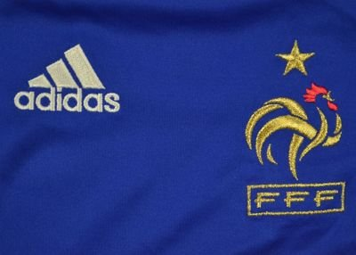 2007-08 FRANCE SHIRT SIZE 4/5 YEARS
