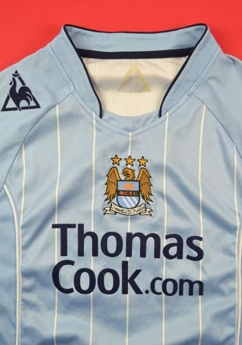 2007-08 MANCHESTER CITY * MPENZA* SHIRT XL. BOYS