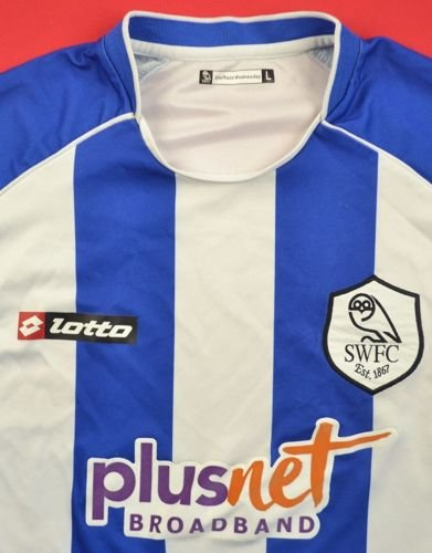 2007-08 SHEFFIELD WEDNESDAY SHIRT L