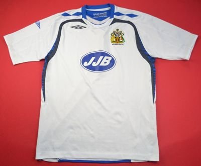 2007-08 WIGAN ATHLETIC SHIRT L