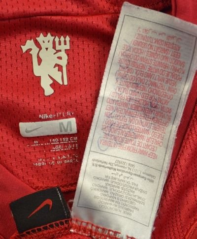 2007-09 MANCHESTER UNITED SHIRT M. BOYS
