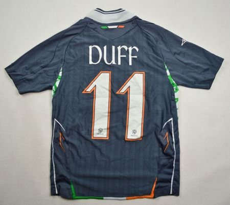 2007 IRELAND *DUFF* SHIRT M. BOYS 8/9 YRS