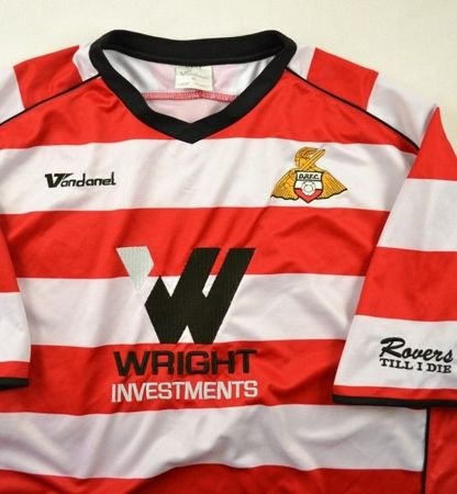 2008-09 DONCASTER ROVERS SHIRT XL