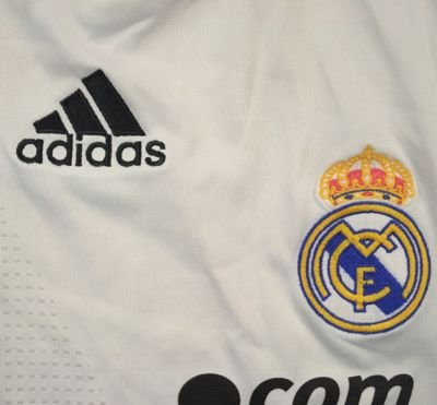 2008-09 REAL MADRID SHIRT M