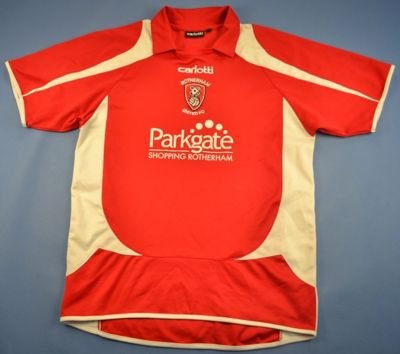 2008-09 ROTHERHAM UNITED SHIRT M