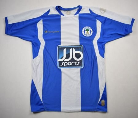 2008-09 WIGAN ATHLETIC SHIRT S