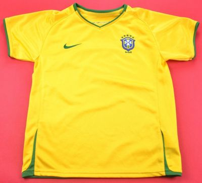2008-10 BRAZIL SHIRT SIZE 6/7 YEARS