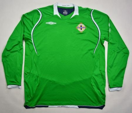 2008-10 NORTHERN IRELAND LONGSLEEVE SHIRT XL