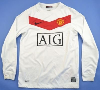 2009-10 MANCHESTER UNITED *NANI* SHIRT S. BOYS