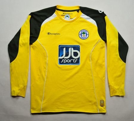 2009-10 WIGAN ATHLETIC LONGSLEEVE SHIRT L. BOYS