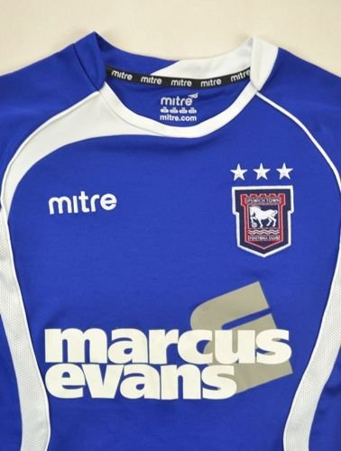 2009-11 IPSWICH TOWN SHIRT SIZE 7/8 YEARS