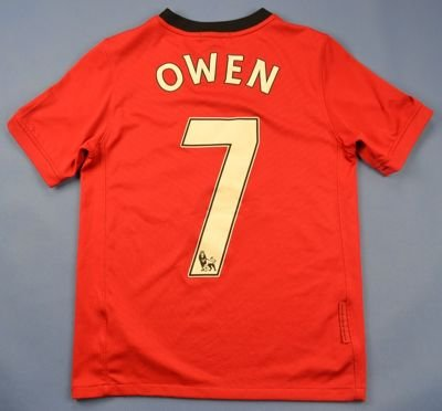 2009 MANCHESTER UNITED  *OWEN* SHIRT S. BOYS