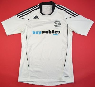 2010-11 DERBY COUNTY SHIRT S