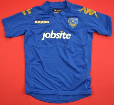 2010-11 PORTSMOUTH FC SHIRT SIZE 6/7 YEARS